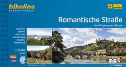 Romantische Straße Karte.Radweg Romantische Straße Zwischen Würzburg Und Füssen